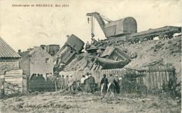 Melreux - Top Carte - Catastrophe Ferroviaire De Mai 1911 - Grue Dégageant La Loco - 191? ( Voir Verso ) - Hotton