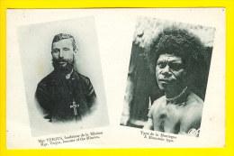 MGR VERJUS FONDATEUR MISSION PAPOUASIE PAPOUA NOUVELLE GUINEE MISSIONNAIRE COEUR SACRE ABBE INDO-CHINE W54 - Papouasie-Nouvelle-Guinée