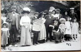 CARTE PHOTO   A IDENTIFIER    TOURISME  JOURNAL DE BEAUSEJOUR  CARTE PHOTO VERS 1900 BELLE COMPOSITION