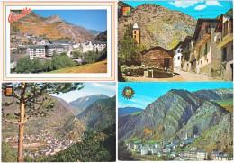 Gf. CANILLO. 4 Cartes - Andorra