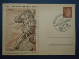 Afrikakorps , Cachet Nazi , , Deutsches Reich , Hitler , Illustrateur Ax-Heu , Allemagne - Cachets Commémoratifs