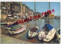 14 - HONFLEUR -  LE BASSIN DE LA LIEUTENANCE ET VIEILLES MAISONS DU QUAI SAINTE CATHERINE - Honfleur