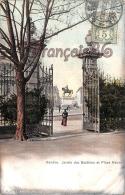 (Suisse) - Genève - Jardin Des Bastions Et Place Neuve - 2 SCANS - GE Ginevra