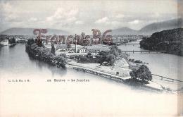 (Suisse) - Genève - La Jonction - 2 SCANS - GE Ginevra