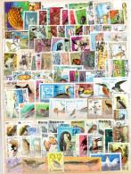 """TIMBRERS -VRAC DE 100timbres """"ANIMAUX-ANIMALS"""" Tous Pays Bon état - Stamps"""