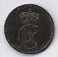 Denmark, 5 Øre, 1882 CS, 2 Scans. - Dänemark