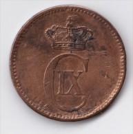 Denmark, 5 Øre, 1884 CS, 2 Scans. - Dänemark
