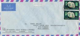 Kenia - Umschlag Echt Gelaufen / Cover Used (n1339) - Kenia (1963-...)