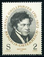 Österreich - Michel 1381 - ** Postfrisch - Franz Grillparzer - 1945-.... 2. Republik