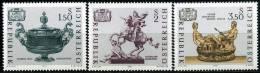 Österreich - Michel 1355 / 1357 - ** Postfrisch - Kunstschätze - 1945-.... 2ª República