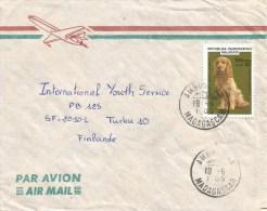 Madagascar 1985 Ambostanya Spanish Cocker Dog Cover - Madagaskar (1960-...)