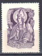 Austria 1949 - Art. Religions  Mi.936 -  MNH (**) - 1945-60 Nuevos & Fijasellos