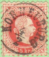 "AUT SC #29e  1867 Austro-Hungarian Monarchy W/SON (""KORNEUBURG / 2-4""), CV $1.75 - 1850-1918 Empire"