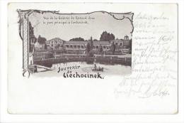 10795 - Souvenir De Ciechocinek Vue De La Galerie Du Kursaal Dans Le Parc Principal - Pologne