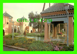 MARRAKECH, MAROC - VUE DE L´ENTRÉE  DE L´HÔTEL LA MAMOUNIA - - Marrakech