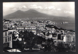 NAPLES  PANORAMA POSTCARD 1963 - Napoli (Naples)