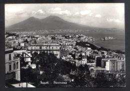 NAPLES  PANORAMA POSTCARD 1963 - Napoli (Napels)