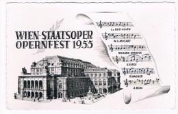 Ö-2472      WIEN : Staatsoper Opernfest 1955 - Wien Mitte