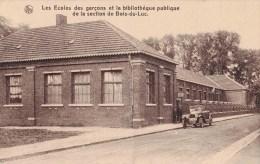 Les Ecoles des gar�ons et la biblioth�que publique de la section de Bois-du-Luc - Charbonnages � HOUDENG-AIMERIES