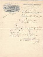 25.- PONTARLIER .- Manufacture De Cuirs CHARLES LAGIER - France