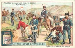 CHROMO LIEBIG ARMEES DES ETATS BALCANIQUES  ROUMANIE - Liebig