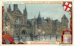 CHROMO LIEBIG  PALAIS DE JUSTICE LONDRES - Liebig