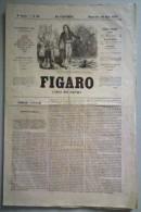Figaro Journal Non Politique, 10 Juin 1855, 2ème Année No 63. - Journaux - Quotidiens