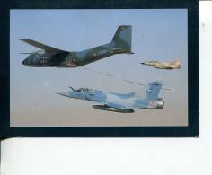 (ORL 598) Aviation - Avion - Mirage 2000 + C 160 & C 135 (2 Cards) - 1946-....: Moderne