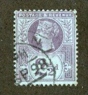 7211x  GB 1887  Scott #114 (o)   (SCV- $2.50)  Offers Welcome! - 1840-1901 (Viktoria)
