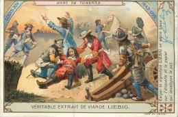 CHROMO LIEBIG MORT DE TURENNE LOUIS XIV - Liebig