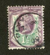 7218x  GB 1887  Scott #112 (o)   (SCV- $5.75)  Offers Welcome! - 1840-1901 (Viktoria)