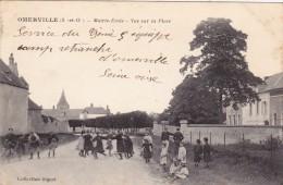 OMERVILLE - Mairie Ecole - Vue Sur La Place (95) - Altri Comuni