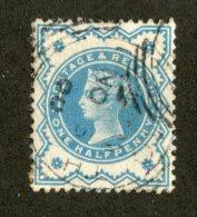 7219x  GB 1900  Scott #125 (o)   (SCV- $1.75)  Offers Welcome! - 1840-1901 (Viktoria)