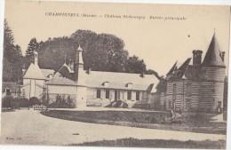 CPA - CHAMPIGNEUL (51) - Château St Georges - Entrée Principale - 1918 - France