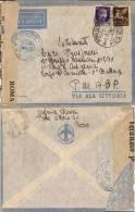 AEROGRAMMA FRANCHIGIA POSTA MILITARE 17 1941 XILOCASTRON GRECIA - 1900-44 Vittorio Emanuele III