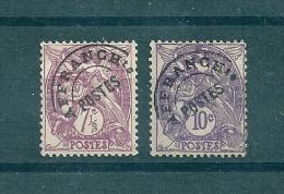 France Préo De 1922/47  N°42 Et 43 Neufs Charnières - 1893-1947