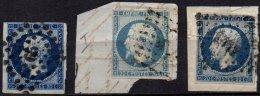 FRANCE - 20 C. Oblitéré - 3 Pièces - 1853-1860 Napoleon III