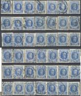 _4Zw664: Restje : 42 Zegels: N°277: 1,75 F...... Om Verder Uit Te Zoeken... - 1922-1927 Houyoux