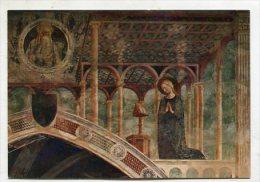 CHRISTIANITY - AK 212096 Roma - Chiesa S. Clemente - Masolino (1425) - La Vergine Annunziate - Churches & Convents