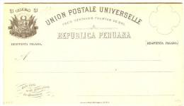 LBL289 - PEROU EP CPRP EMISSION 1883 3c + 3c NEUVE - Pérou
