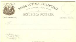 LBL289 - PEROU EP CPRP EMISSION 1883 5c + 5c NEUVE - Peru