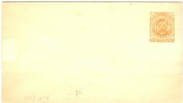 LBL289 - BOLIVIE CP EP 2c NEUVE - Bolivie