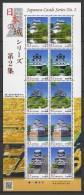 Japan (2014) - MS -  /  Castles - Chateaux - Heritage - Series #2 - Kastelen