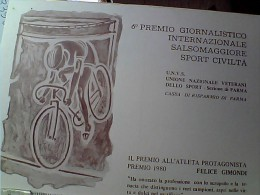 CICLISMO SPORT CIVILTA 6° PREMIO SALSOMAGGIORE FELICE GIMONDI N1980  EO10709 - Ciclismo