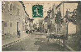 Chatillon Sur Loire Rue De Chambon Edition Cour Cliché Thibaudat - Chatillon Sur Loire