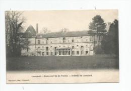 Cp , ECOLE De L'Ile De France , LIANCOURT , Château , Vierge , Ed : Breger - Schools