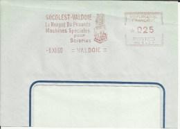 Lettre EMA Havas Mg 5428 Socolest Machines Speciales Pour Scieries Bois Metiers Theme 90 Valdoie  A43/17 - Fábricas Y Industrias
