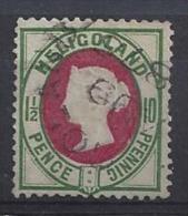 Germany (Helgoland)  1875  (o)  Mi.14a - Heligoland