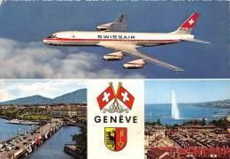 BF37801 Swisair Switzerland Geneve Aviation Airplane Air Plaine - 1946-....: Moderne