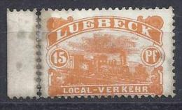 Germany (Lubeck)  (*)  MH  Private Post / Local-Verkehr - Private
